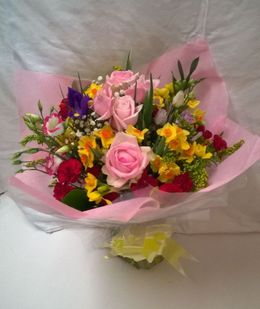 Mothers Day Hand Tied Bouquet