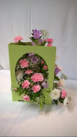 Mothers Day Flower Card Display