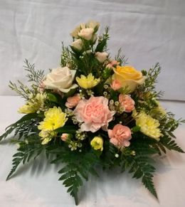 Mothers Day Table Posy Arrangement