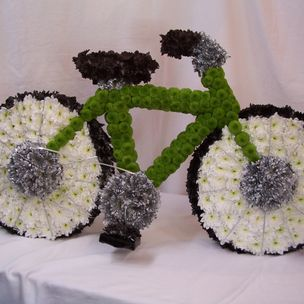 Push Bike in flowers